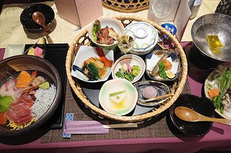 海鮮丼&花かご御膳